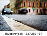 rainy day in the big city  the... | Shutterstock . vector #637383484