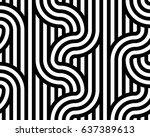 geometric seamless pattern....   Shutterstock .eps vector #637389613
