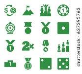 win icons set. set of 16 win...   Shutterstock .eps vector #637395763