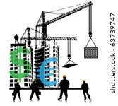 investment of money in building   Shutterstock .eps vector #63739747