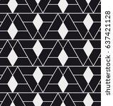 vector seamless pattern. modern ...   Shutterstock .eps vector #637421128