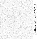 vector seamless pattern.... | Shutterstock .eps vector #637422244
