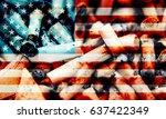 Transparent Flag Of Usa With...