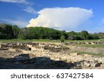 Small photo of Remains of the ancient Greek city Abdera