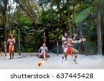 Group Of Yugambeh Aboriginal...