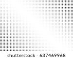 abstract halftone dotted... | Shutterstock .eps vector #637469968