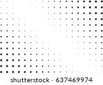 abstract halftone dotted... | Shutterstock .eps vector #637469974