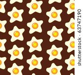 Vector Brown Seamless Pattern...