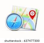 vector illustration of global... | Shutterstock .eps vector #637477300