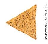 a single salt and pepper... | Shutterstock . vector #637485118