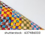 Homemade  Patchwork  Quilting ...