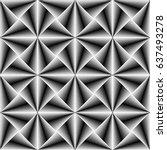 3d seamless gradient stripe... | Shutterstock .eps vector #637493278