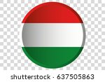 a 3d button of the flag of ... | Shutterstock .eps vector #637505863