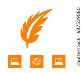 pen vector icon | Shutterstock .eps vector #637529080