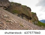 Slope Of The Mountains Of The...