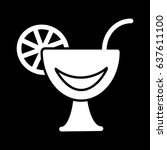 cocktail line icon  solid...
