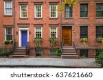 Old apartment buildings in...