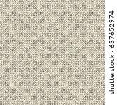 seamless shabby diagonal stripe ... | Shutterstock .eps vector #637652974