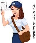 vector illustration of a... | Shutterstock .eps vector #637653766