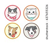 vector illustration icon design ... | Shutterstock .eps vector #637655326