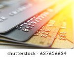 gold and platinum credit cards...