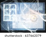media medicine background image ... | Shutterstock . vector #637662079