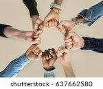 togetherness team alliance... | Shutterstock . vector #637662580