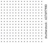 seamless crosses pattern | Shutterstock .eps vector #637697980