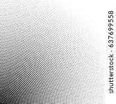 dots gradation halftone pattern