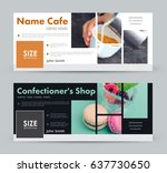 design a banner with blocks for ... | Shutterstock .eps vector #637730650