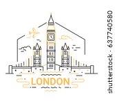 London   Modern Vector Line...