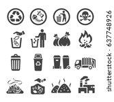 Waste Garbage Icon