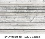 natural unfinished wooden... | Shutterstock . vector #637763086