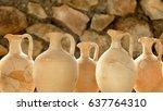 Five Broken Roman Vases Put...