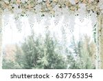 wedding | Shutterstock . vector #637765354