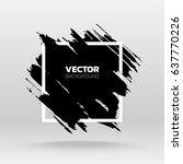 black grunge abstract...   Shutterstock .eps vector #637770226