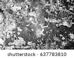 metal texture with scratches... | Shutterstock . vector #637783810
