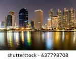 bangkok  thailand  may 1  2017. ... | Shutterstock . vector #637798708