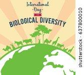 international day for... | Shutterstock .eps vector #637800010