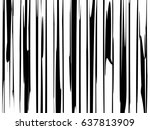 abstract black stripes... | Shutterstock .eps vector #637813909