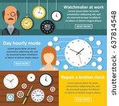 flat illustration of 3 watch