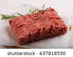 Raw Minced Meat With Thyme And...