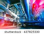 industrial factory. various... | Shutterstock . vector #637825330