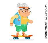 sports healthy granny active...