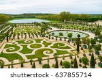 versailles  france   may 8 ... | Shutterstock . vector #637855714