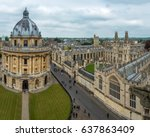 radcliffe camera and all souls...   Shutterstock . vector #637863409