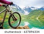 Mountain Bike Wheel And...
