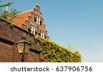netherlands leiden in the... | Shutterstock . vector #637906756