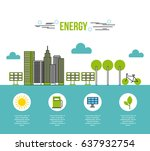 eco friendly related image    Shutterstock .eps vector #637932754