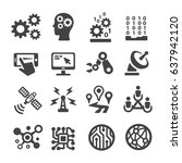 technology icon | Shutterstock .eps vector #637942120